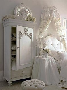 A side closet is another option instead of a side drawer or side table where you can make use of the various shelves in it to store some extra items in it