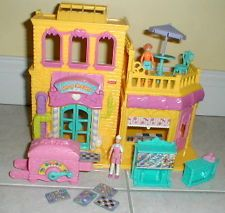 FISHER PRICE SWEET STREET DOLLHOUSE CANDY COMPANY FACTORY CANDY LOAD W/ACC NICE!