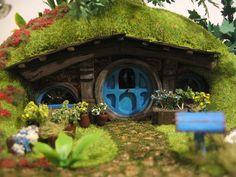 hobbit hobbit house hobbitone Tolkien Fairy by MyFairyTaleHouse