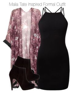 """""""Malia Tate Inspired Formal Outfit"""" by staystronng ❤ liked on Polyvore featuring Bonbons, formal, tw and maliatate"""