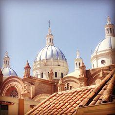 Cúpulas Catedral de la Inmaculada -#Cuenca