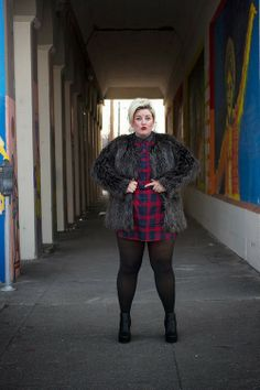inclusivestreetstyle:  another fab fat blogger, Margie Plus! so...