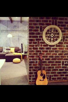 Industrial style Warehouse design. Interior design by Studio Door. studiodoor.biz get the look.