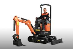 Designed in the company's engineering centre for Europe, the Middle East and Africa at Dobris in the Czech Republic, the new zero tail swing (ZTS) mini-excavator has been launched by Doosan. Garden Fire Pit, Mini Excavator, Chenille, Go Kart, Fire Pits, Heavy Equipment, Power Tools, Farm Life, Tractors