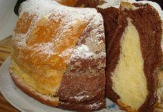 Kelt kakaós kuglóf Dettytől | NOSALTY Ring Cake, Winter Food, Pound Cake, Scones, Cornbread, French Toast, Sandwiches, Bakery, Muffin