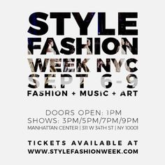 Bubble Fish, Style Fashion, Fashion Music, Romeo And Juliet, Manhattan, Rsvp, September, The Scene, Nyc