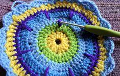 Paso a paso: mandala a crochet