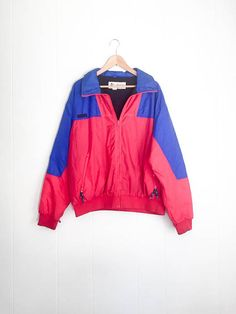 303412436c3 Vintage Ski Jacket - Columbia Jacket - 90s Windbreaker - Snow Jacket - 90s  Retro - Mens XL - Ski Jac
