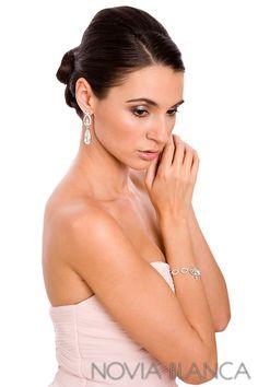 bridal jewelry  www.novia-blanca.pl biżuteria ślubna