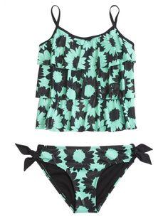 Daisy Tankini Swimsuit | Girls Swimsuits Swim | Shop Justice