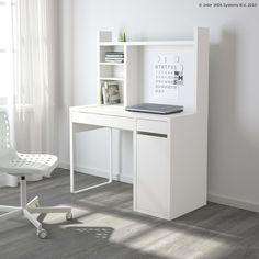 Uz dobru organiziranost, tvoj će radni stol uvijek biti spreman za nove radne izazove. :) www.IKEA.hr/MICKE_radna_stanica