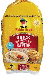 Coupons et Circulaires: 2,49$ Gruau ROBIN HOOD 1kg