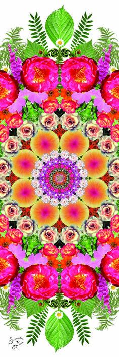 Flower Energy Mandala Starwater Yoga Mat