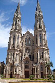 Catedral de São João Batista - Santa Cruz do Sul- RS - Brasil