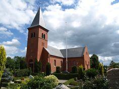 Sunds Kirke - Herning #Denmark #Church