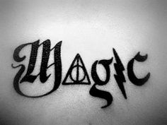 """LOVE this concept for a HP tattoo but would just want to change the """"a"""" to something else"""
