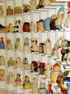 Bon ANDY WARHOL Cookie Jar Collection Totaled 175 Jars In All When He Passed  Away.