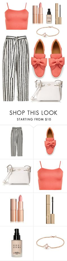 """Ꮎutfit #341"" by mromero21 ❤ liked on Polyvore featuring River Island, BUSCEMI, Kate Spade, WearAll, Stila, Bobbi Brown Cosmetics and David Yurman"