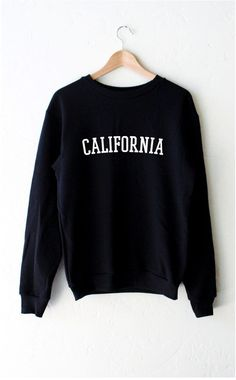 """- Description - Size Guide Details: Oversized, unisex fit crew neck sweatshirt in black with print featuring 'California'. Brand: NYCT Clothing. Unisex, oversized/loose fit. Fabric & Care: 50% Cotton, 50% Polyester Machine Wash Cold Imported - Unisex, oversized, loose fit. S M L Bust 40"""" 44"""" 48"""" Length 27"""" 28"""" 29"""" Sleeve Length 29"""" 30"""" 31"""" Bust is measured under your arms to the fullest part of your chest. Length is measured from shoulder to bottom hem. Sleeve length is measured from…"""