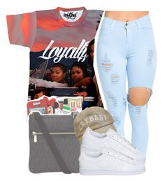 """."" by clinne345 ❤ liked on Polyvore featuring adidas"