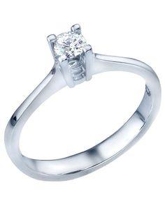 Dreamy San Diego Wedding in the Garden Elegant engagement rings