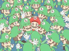 Mario and Luigi: Dream Team in a nutshell Mario Y Luigi, Super Mario And Luigi, Super Mario World, Nintendo Game, Nintendo Characters, Super Mario Brothers, Donkey Kong, Mundo Super Mario, Luigi And Daisy