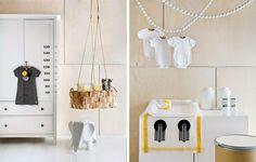 Inspiración en amarillo para dormitorios de bebé