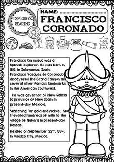 Francisco Vasquez De Coronado Expedition Colonial New Spain - Map of us explorers coronado la salle