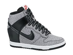 watch 73a27 29d1e Need these in my lifeeee Nike Dunk Sky Hi TXT Women s Shoe Nike Wedge  Sneakers,