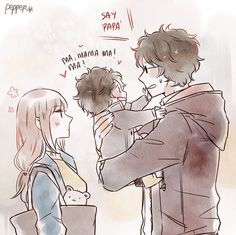 If Tatsuma and Mutsu got married and had child together