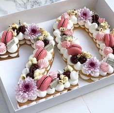 Tag your friends. By adi cake decorating recipes kuchen kindergeburtstag cakes ideas Birthday Cake 30, Number Birthday Cakes, 21st Birthday Decorations, Birthday Cakes For Women, Number Cakes, Birthday Celebration, Birthday Parties, Happy Birthday, Birthday Cake For Friend