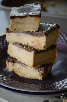 No bake peanut butter bar recipe