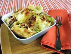 Foil Pack Cabbage - 88 cals! (cabbage, bacon, onion, garlic, butter...yum & healthy!)