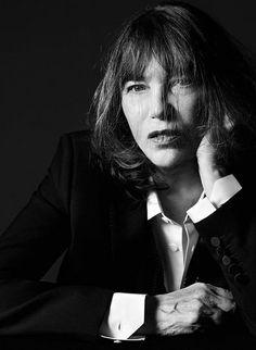 Jane Birkin by Hedi Slimane for Saint Laurent