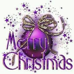 Merry Christmas, purple lovers!!