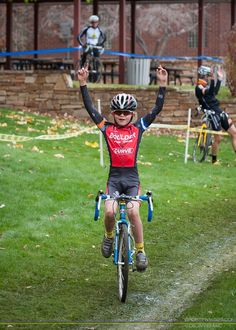 Awesome. Cyclocross. Kid.