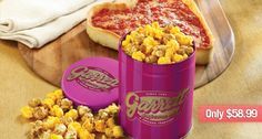 Garrett Popcorn Valentine's Qt & 1 Heart Shaped Pizza @Debbie Huddleston