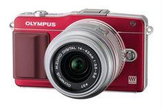 Olympus Pen E-PM2 Red