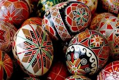 Pysanky. I have wanted to learn this for many, many years