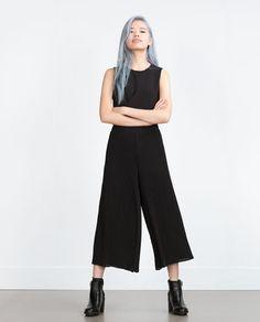 Image 1 of PLEATED SKORTS from Zara
