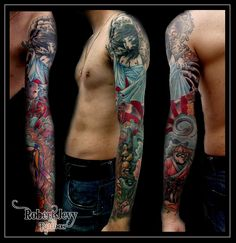 Robert Jevy Traditional Tattoo, Tatting, Tattoo Traditional, Traditional Style Tattoo, Needle Tatting, Traditional Tattoos