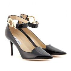 Zapatos de pulsera al tobillo de Jimmy Choo. Tacones Negro 2013