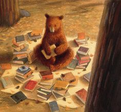 Getting ready for winter hibernation. re-pinned by: http://sunnydaypublishing.com/books/