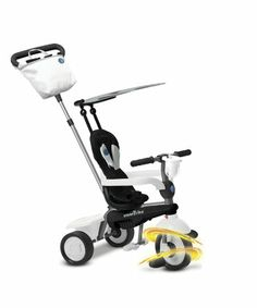 Educational Toys and Games. Smart Trike Spirit 4-In-1 Tricycle. A fun trike that grows with your child, converting from a secure baby tricycle to an independent trike. #Kids #Toys #Fun