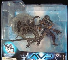 AVP Celtic Predator Throws Alien Diorama Display Base 2005 Spawn Classic Detail | eBay