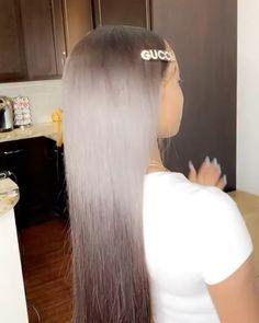 Elegant Hairstyles, Black Girls Hairstyles, Hairstyles For School, Pretty Hairstyles, Sew In Weave Hairstyles, Wig Hairstyles, Sew In Wig, Natural Hair Styles, Long Hair Styles