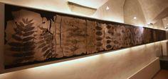 """Istallazione  Museo Marino Marini, """"il sogno di Dafne"""", 2011,Ceramica - tecnica mista Firepaint e Impressioni, 60x750cm. By Giovanni Maffucci"""