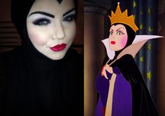 The Evil Queen from Disney's Snow White.