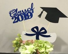 Graduation Centerpiece, Graduation Centerpiece Sticks, Graduation Party Decorations, Graduation Decor, Class of Graduation Party Decor Graduation Table Decorations, 80th Birthday Decorations, Graduation Cake Toppers, Birthday Centerpieces, Graduation Party Decor, Graduation Centerpiece, Party Stores, Party Supplies, Etsy