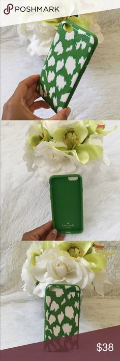 New Kate Spade Iphone 6/6s case Super fun Kate Spade iohone case, rubber on the inside and shell on the outside. Covers your phone completely. Perfect, intact condition comes with box. kate spade Accessories Phone Cases